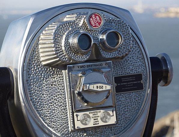 Telescope Contract Eyeglasses Lookout Binoculars F