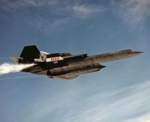 Jet Plane Reconnaissance Investigation Sr 71 Aircr
