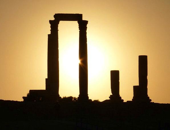 Citadel Hill Vacation Travel Jordan Amman Romance