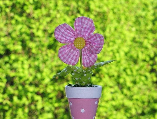 Fabric Flower Preparation Long Lasting Arrangement
