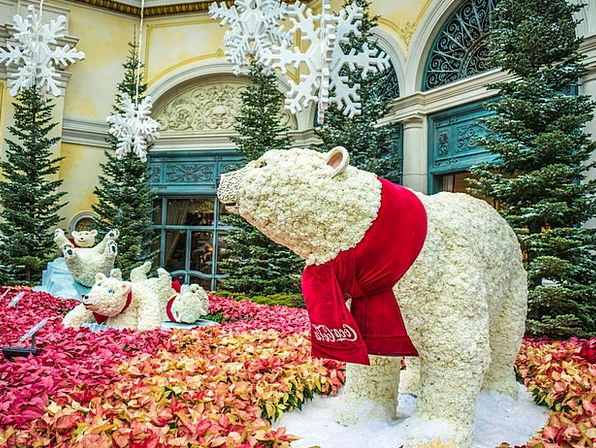 Polar Bears Monuments Places Las Vegas Bellagio Ch