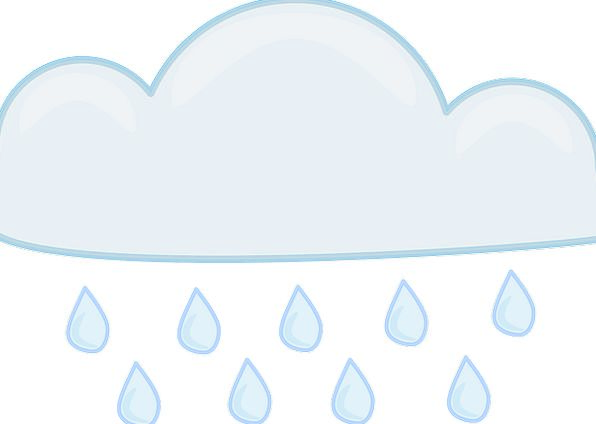 Rain Cloud Mist Volley Storm Tempest Rain Rainy Sh