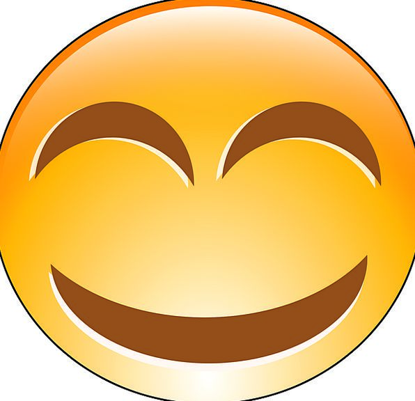 Emoticon Smiling Amused Smilies Free Vector Graphi