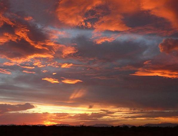 Sunset Sundown Vacation Twilight Travel Clouds Vap