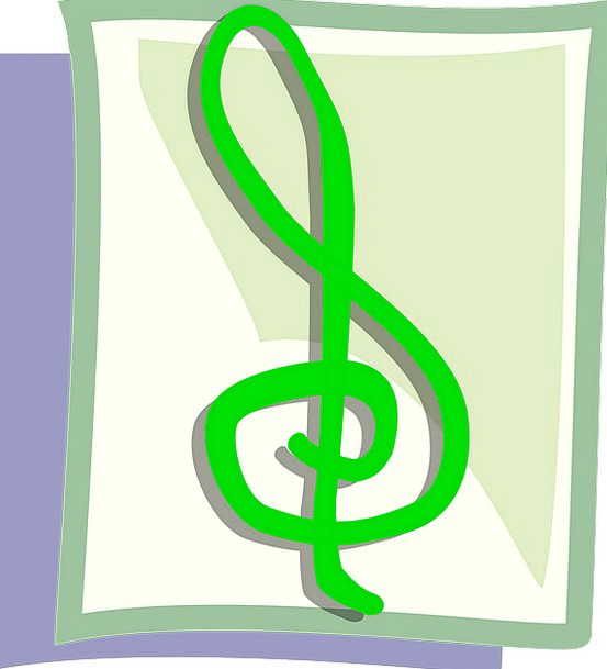 Treble Clef Musical Note G Clef Music Melody Free