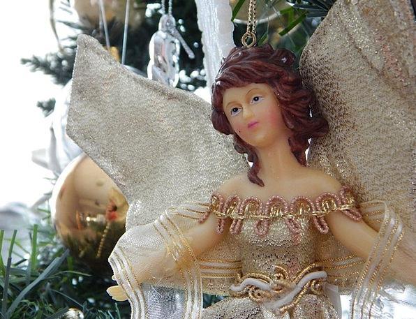 Angel Seraph Ornament Decoration Christmas Seasona