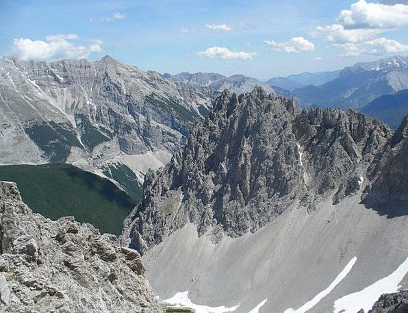 Hafelekar Gleirsch Halltal Chain Innsbruck Alpine