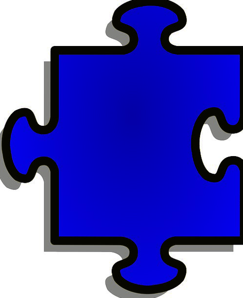 Jigsaw Mystery Piece Part Puzzle Element Shape For