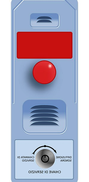 Alarm Fear Key Power Control Button Call Noise Fre