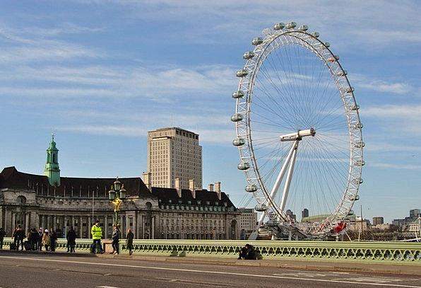 London River Thames London Eye
