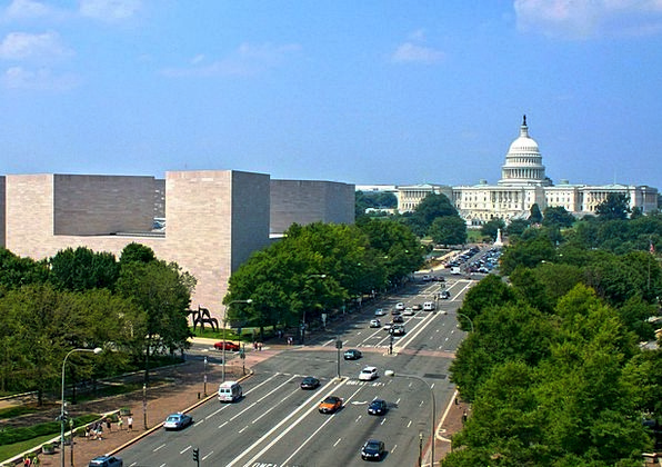 Washington Dc Traffic Transportation Avenue Boulev