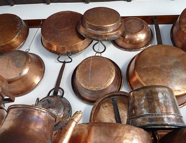 Copper Pots Boiler Tank Pans Nostalgia Homesicknes