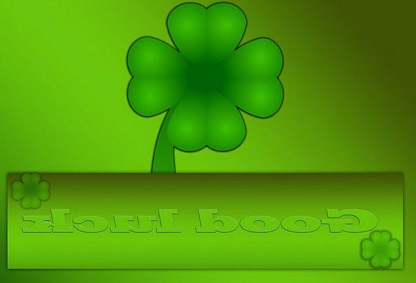 Four Leaf Clover Mascot Symbol Of Good Luck Lucky Charm Lucky