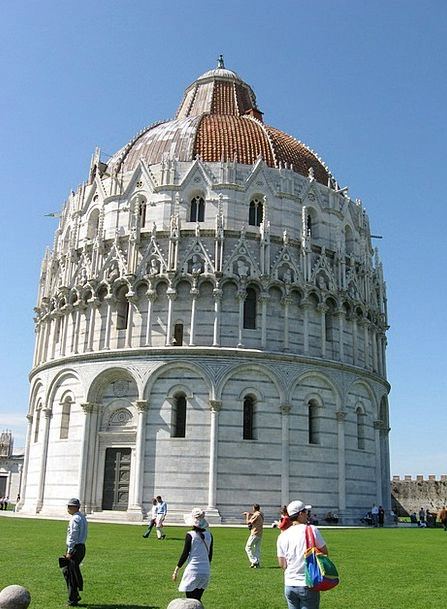 Italy Place Of Miracles Pisa Cathedral Church