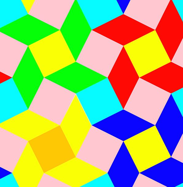 Pattern Design Textures Rhombus Backgrounds Square