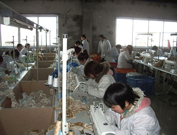 Worker Employee Craft Sweatshop Industry Sewing St
