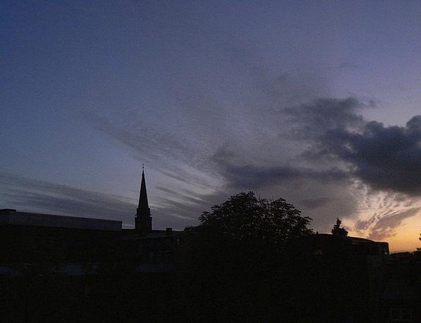 Evening Sky Vacation Sundown Travel Lüneburg Sunse