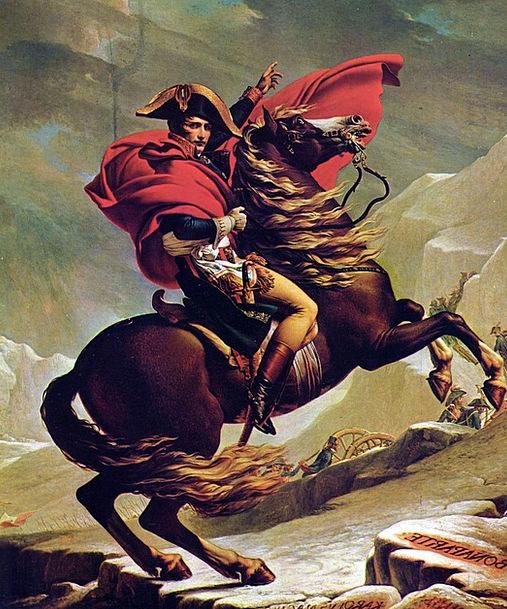 Napoleon Bonaparte Emperor Ruler France Reiter Can