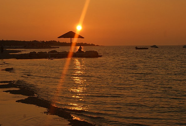 Sea Marine Vacation Sundown Travel Wave Upsurge Su
