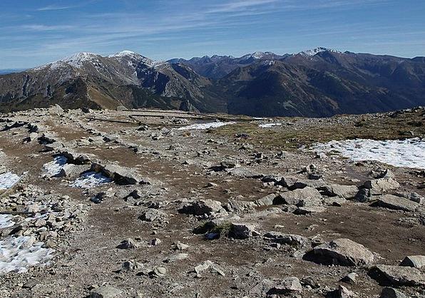 Polish Tatras Landscapes Nature Rocks Pillars The
