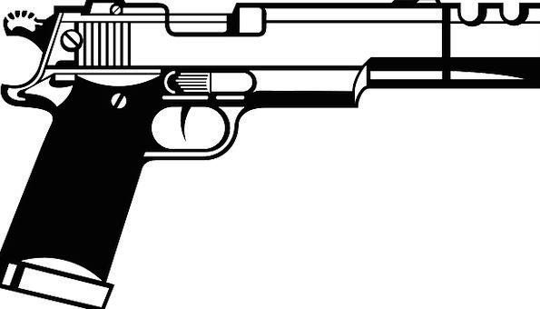 Pistol Firearm Hand Gun Protection Gun Defense Wea