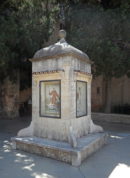 Stele Petra Memorial Stone Mallorca Commemorate Pr