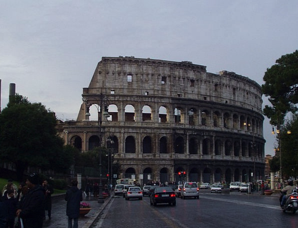 Colosseum Buildings Architecture Italy Romans Rome