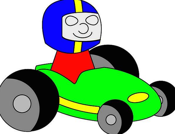 Go-Kart Kart Racecar Free Vector Graphics Racing C