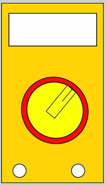 Multimeter Voltage Power Voltmeter Impedance Resis