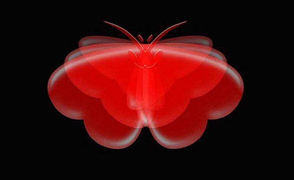 Butterfly Textures Contextual Backgrounds Heart Em