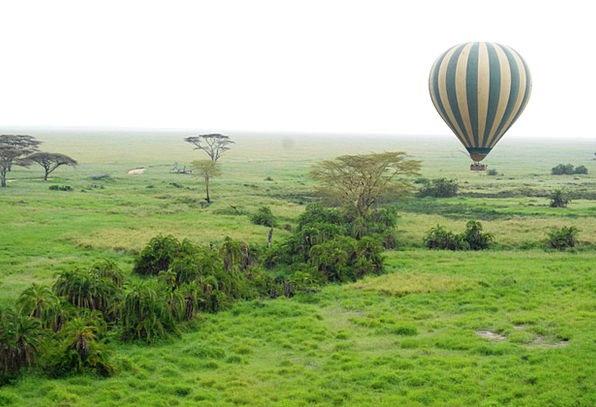 Balloon Inflatable Landscapes Nature Tanzania Sere