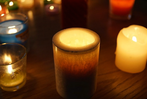 Candle Taper Calm Tranquil Candle Light Glow Candl