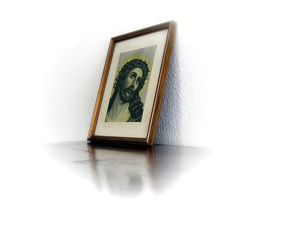 Photo Photograph Jesus Christ Resurrection Frame E