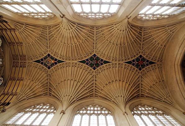 Bath Abbey Ecclesiastical Ceiling Maximum Church A