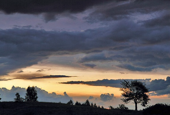 Clouds Vapors Vacation Sundown Travel Sky Blue Sun