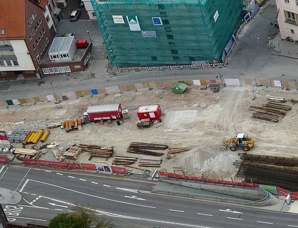 Site Place Shape Construction Work Build Excavator