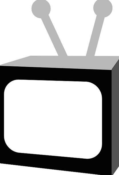 Television TV Dark White Snowy Black Free Vector G