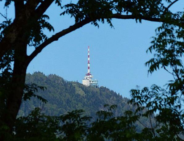 Transmission Tower Landscapes Nature Mountain Crag