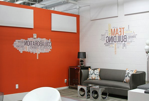 modern contemporary interior inner conference room decor