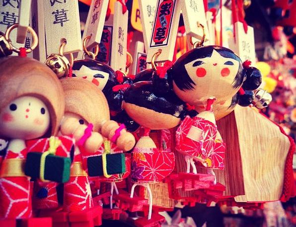 Puppets Marionettes Asakusa Sensoji Toys Dolls Tok