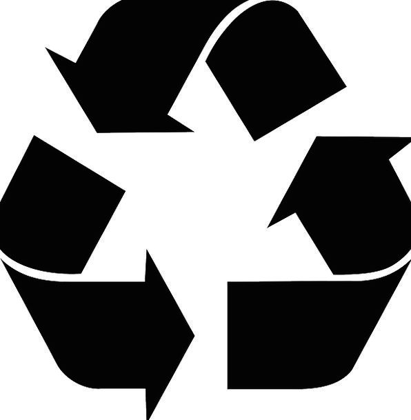 Sign Symbol Reprocessing Recycle Reprocess Recycli