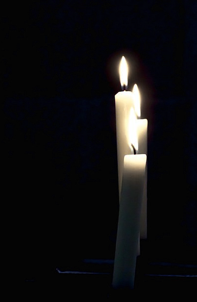 Candles Tapers Grief Candlelight Lowlight Mourning