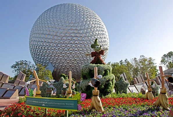 Mickey Mouse Buildings Architecture Epcot Disney C