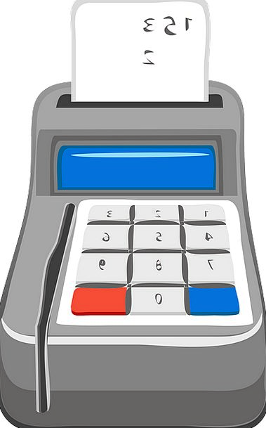 Calculator Adder Finance Till Business Cash Regist