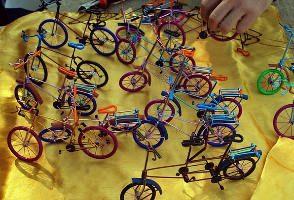 Bicycles Craft Small Industry Crafts Skills Miniat