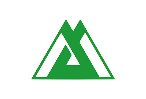 Flag Standard Threesome Toyama Triangle Prefecture