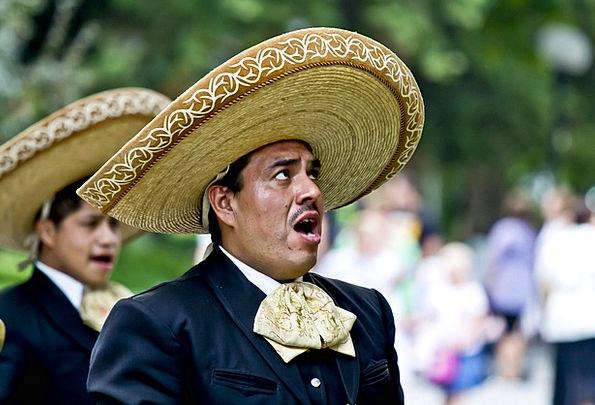 Singer Vocalist Sing Croon Mexicans Man Gentleman