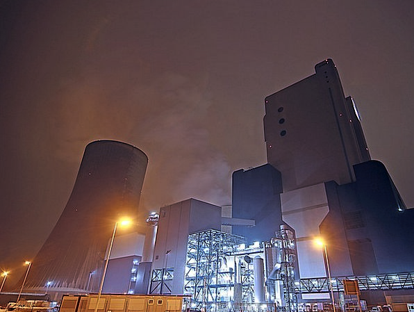 Coal Fired Power Plant Craft Industry Nuclear Powe