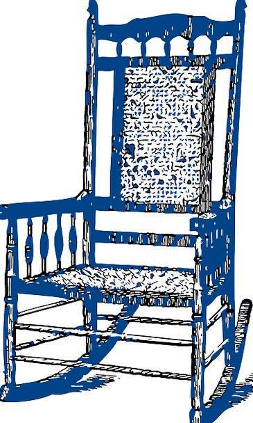 Armchair Wingchair Chair Chairperson Arm Chair Blu