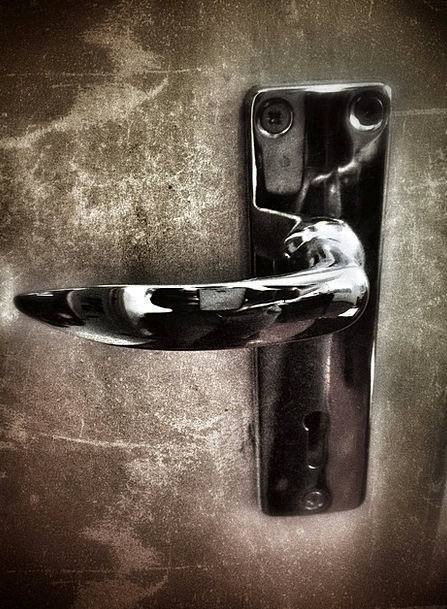 Door Handle Padlock Door Entrance Lock Security Sa